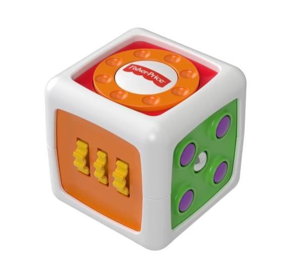 Mattel   Fisher-Price Babys Entdecker-Spielwürfel   FWP34