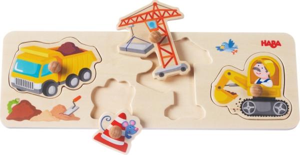 Haba | Greifpuzzle Auf der Baustelle