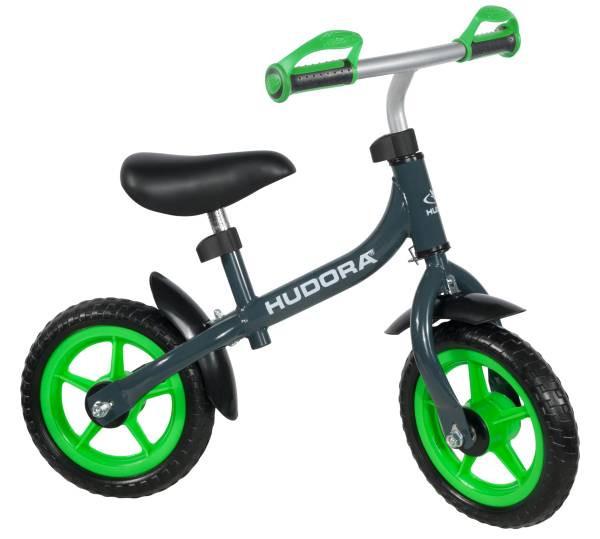 Hudora | Laufrad Bikey 3.0 Boy, 10, grau/grün