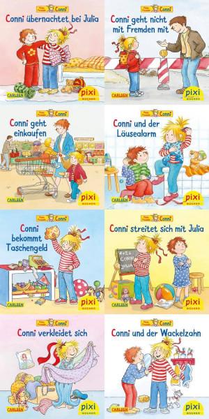 Carlsen   Pixi-8er-Set 260: Meine Freundin Conni (8x1 Exemplar)
