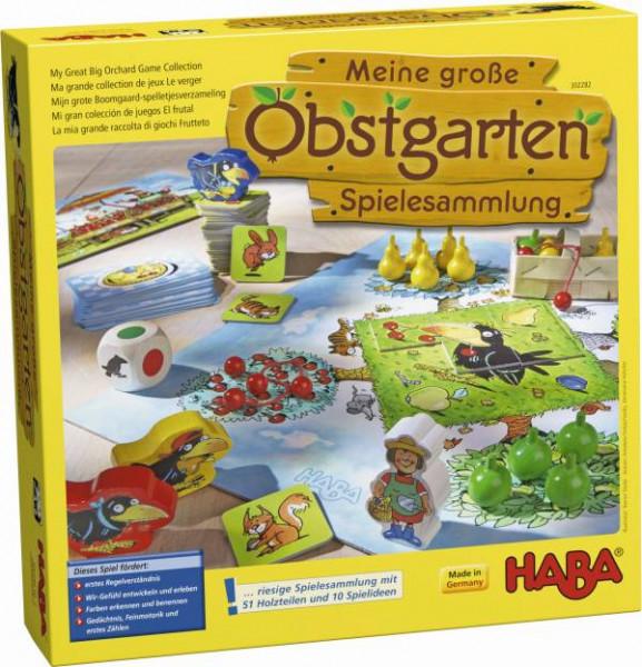 Haba | Meine große Obstgarten-Spielesammlung