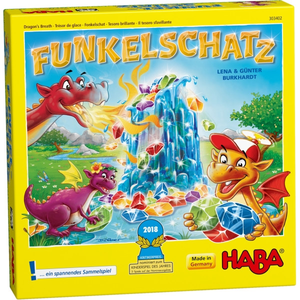 Haba   Funkelschatz   Kinderspiel des Jahres 2018