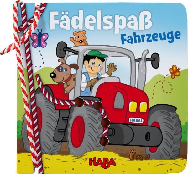 Haba   Fädelbuch – Fädelspaß Fahrzeuge