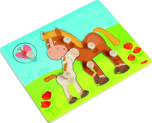 Haba | Greifpuzzle Pferdefamilie
