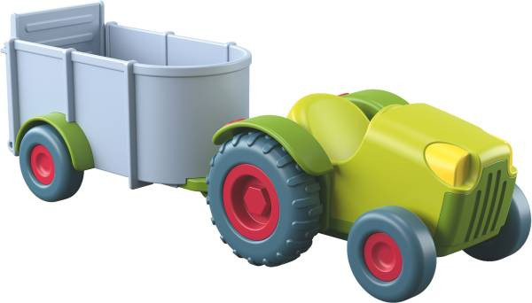 HABA | Little Friends – Traktor mit Anhänger