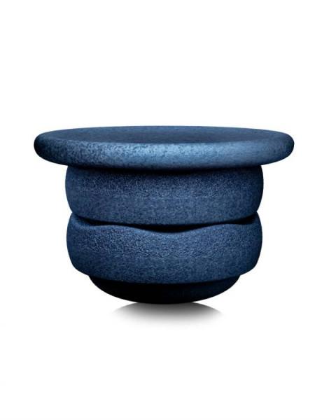 Stapelstein | BALANCE BOARD | Balance Board + 2x Stapelstein | dunkelblau