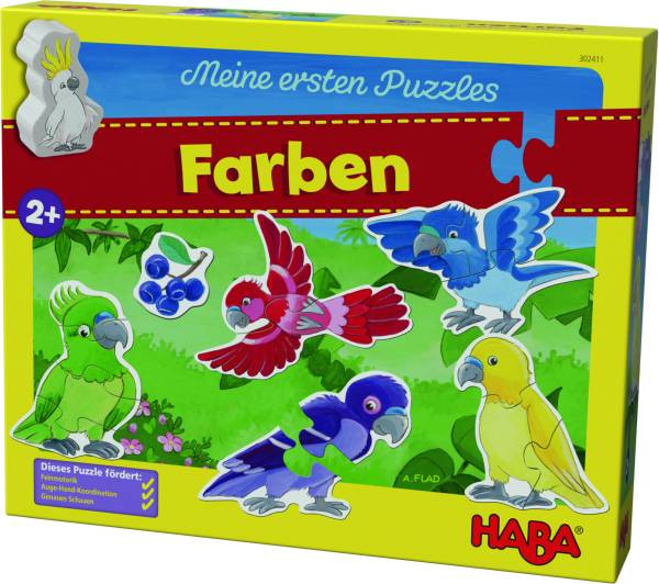Haba | Meine ersten Puzzles – Farben