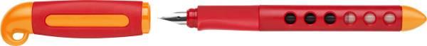 Faber Castell | Schulfüller Scribolino rot links