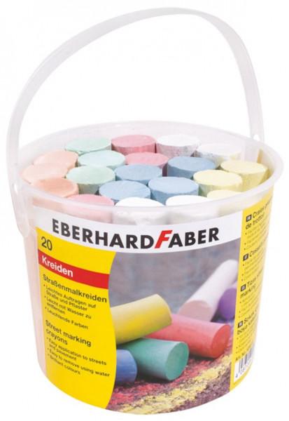Eberhard Faber   Straßenmalkreide 20er Eimer   526512