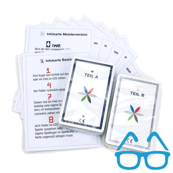 TAC-Verlag | Kartenset für sehbehinderte Menschen ohne Infokarten