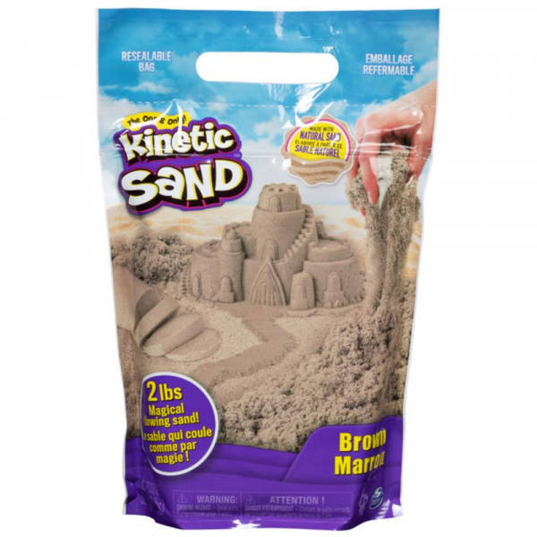 Spin Master | Kinetic-Sand Colour Bag Braun (907gr)