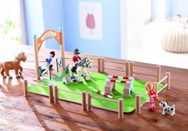 Haba | Little Friends – Spielset Springturnier