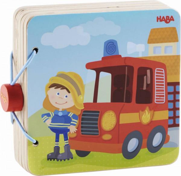 Haba | Holz-Babybuch Feuerwehr