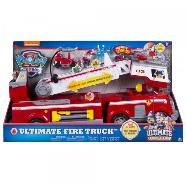 Spin Master   PAW Ultimate Rescue Fire Truck   6043989