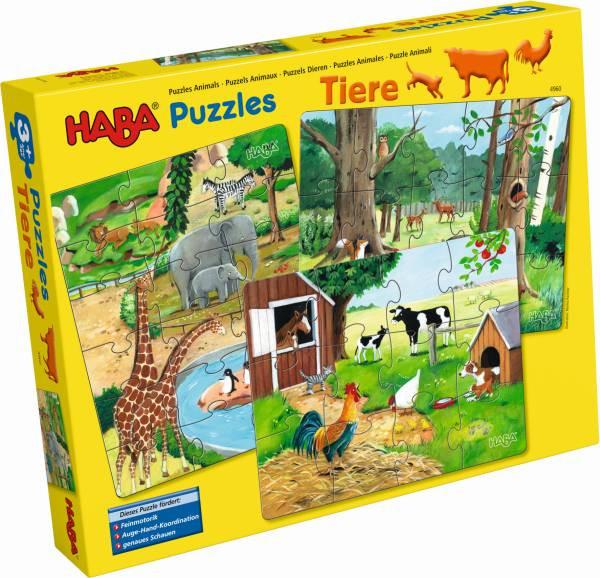 Haba | HABA-Puzzles Tiere | 4960