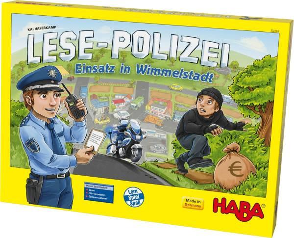 Haba | Lese-Polizei – Einsatz in Wimmelstadt